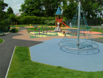 Playground for backyard home design 2017 - Playground surfaces for home ...